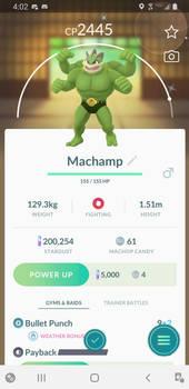Shiny Machamp!