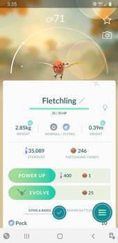 Shiny Fletchling!