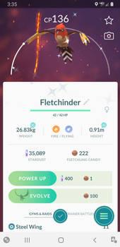 Shiny Fletchinder!