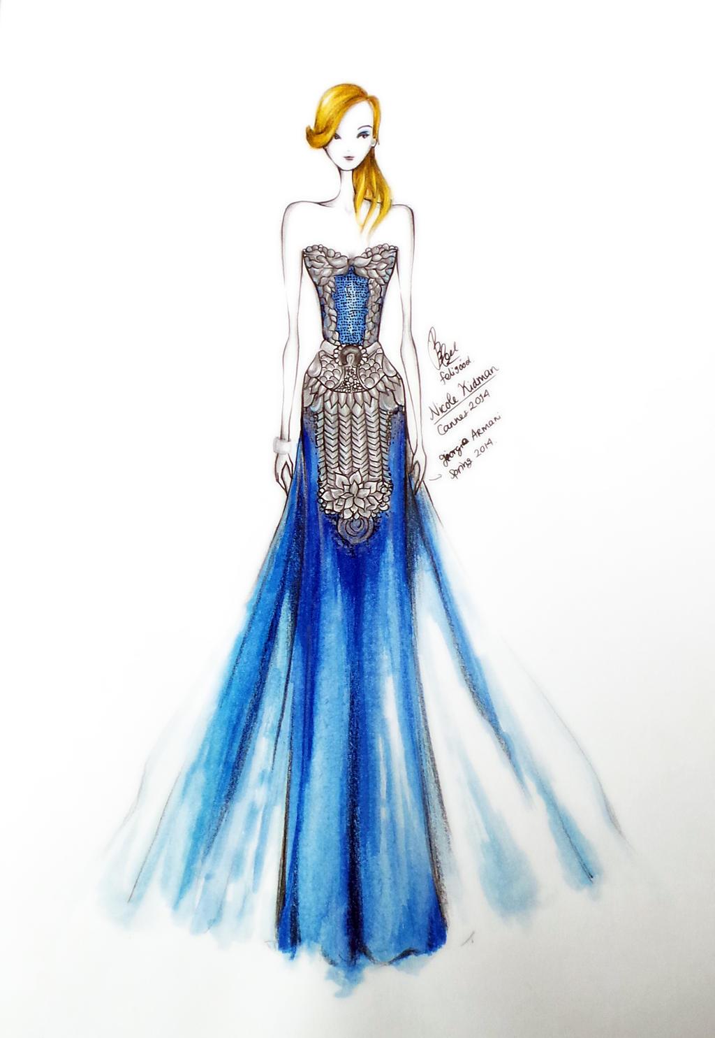 Nicole Kidman Cannes 2014 by eightzerooneeight on deviantART Giorgio Armani Figurines