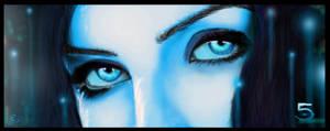 Cortana (Halo 5 Concept) by NightwolfArt