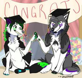 graduates by ripepperoni