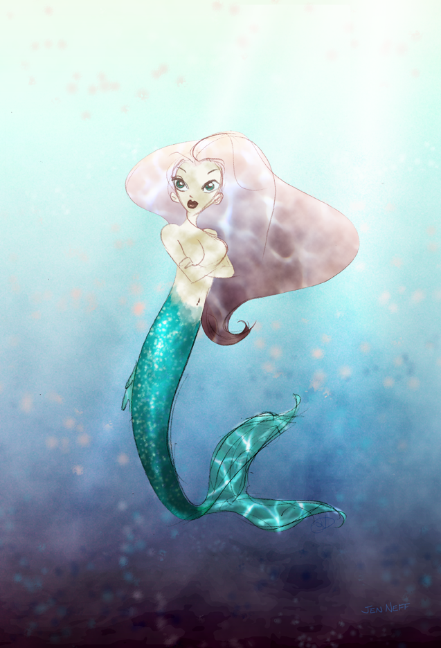 Mermaid by Neffsaid