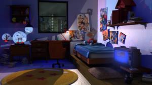 Tatsuki's Room - Night (Maya 2016)