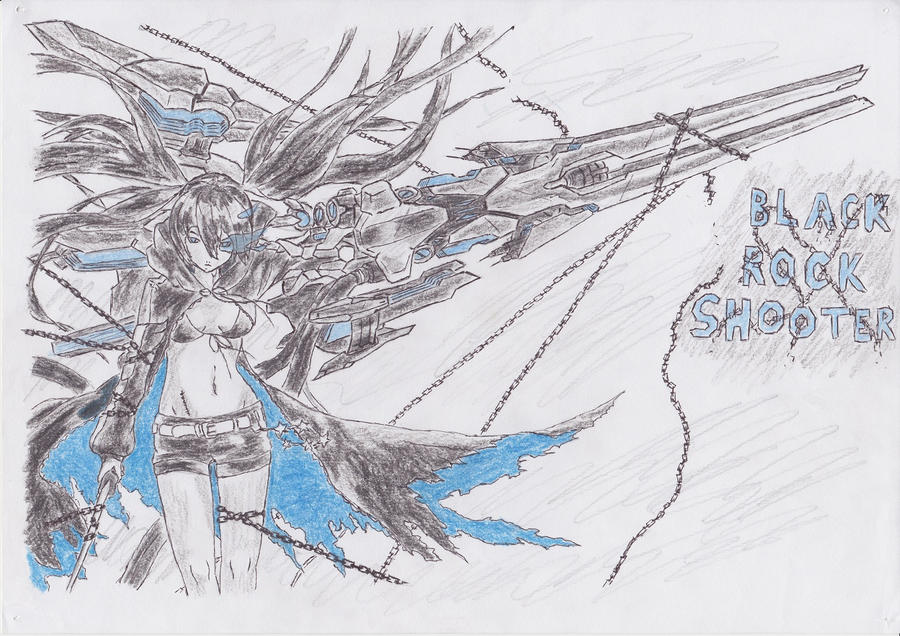 Black Rock Shooter by DWito9