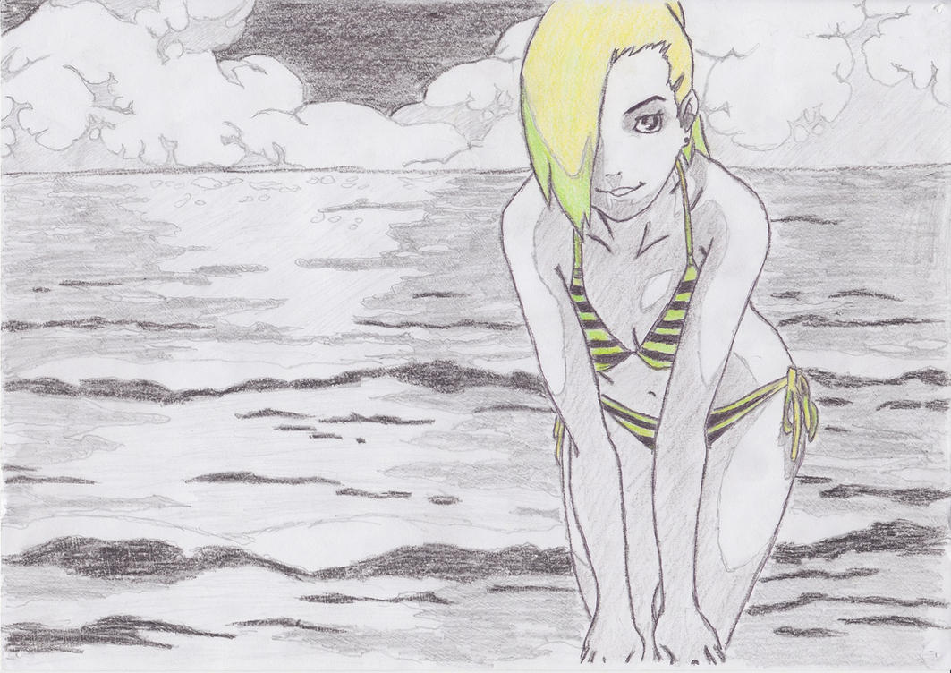 Umm... Green girl by DWito9
