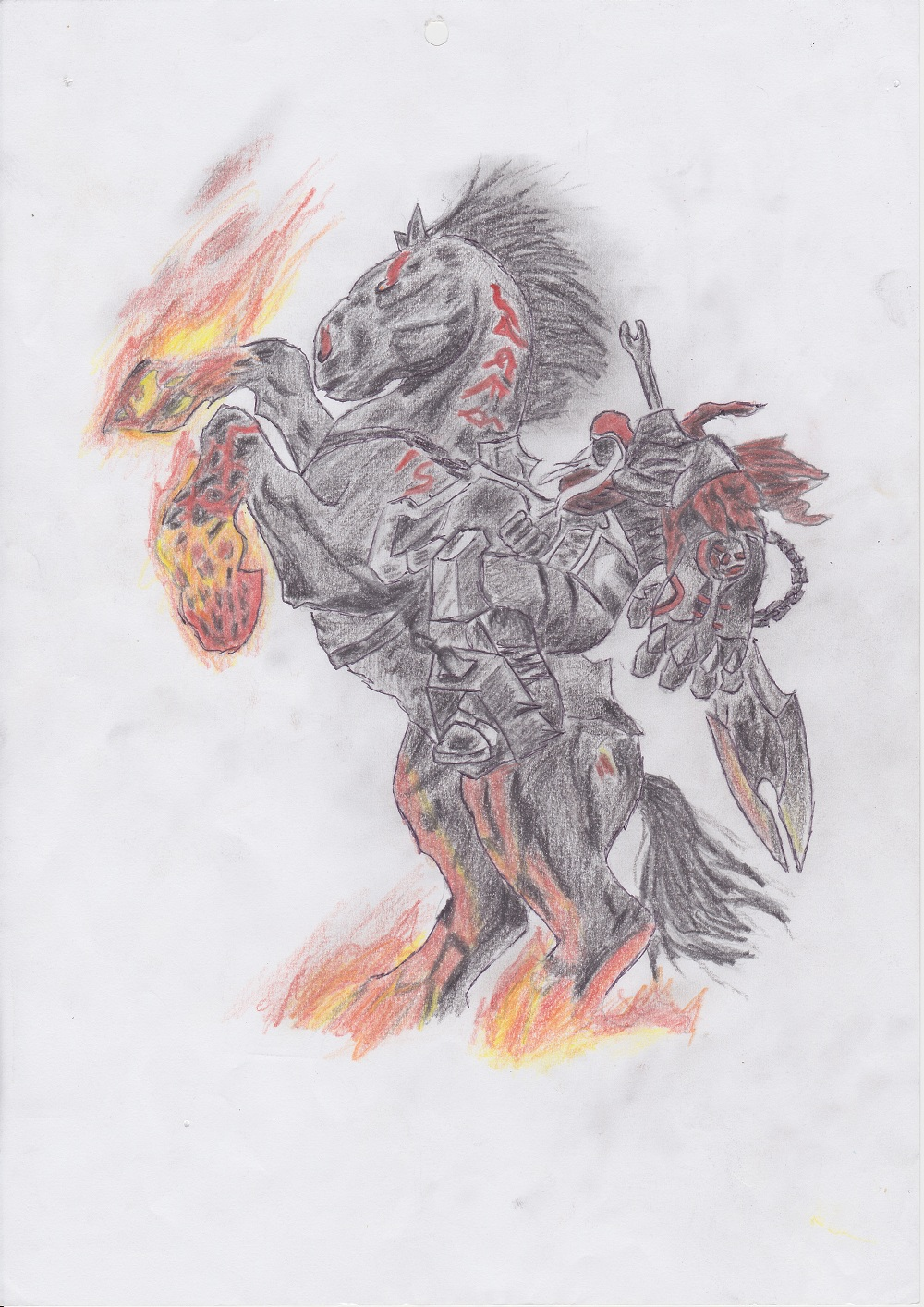 DARKSIDERS WAR by DWito9