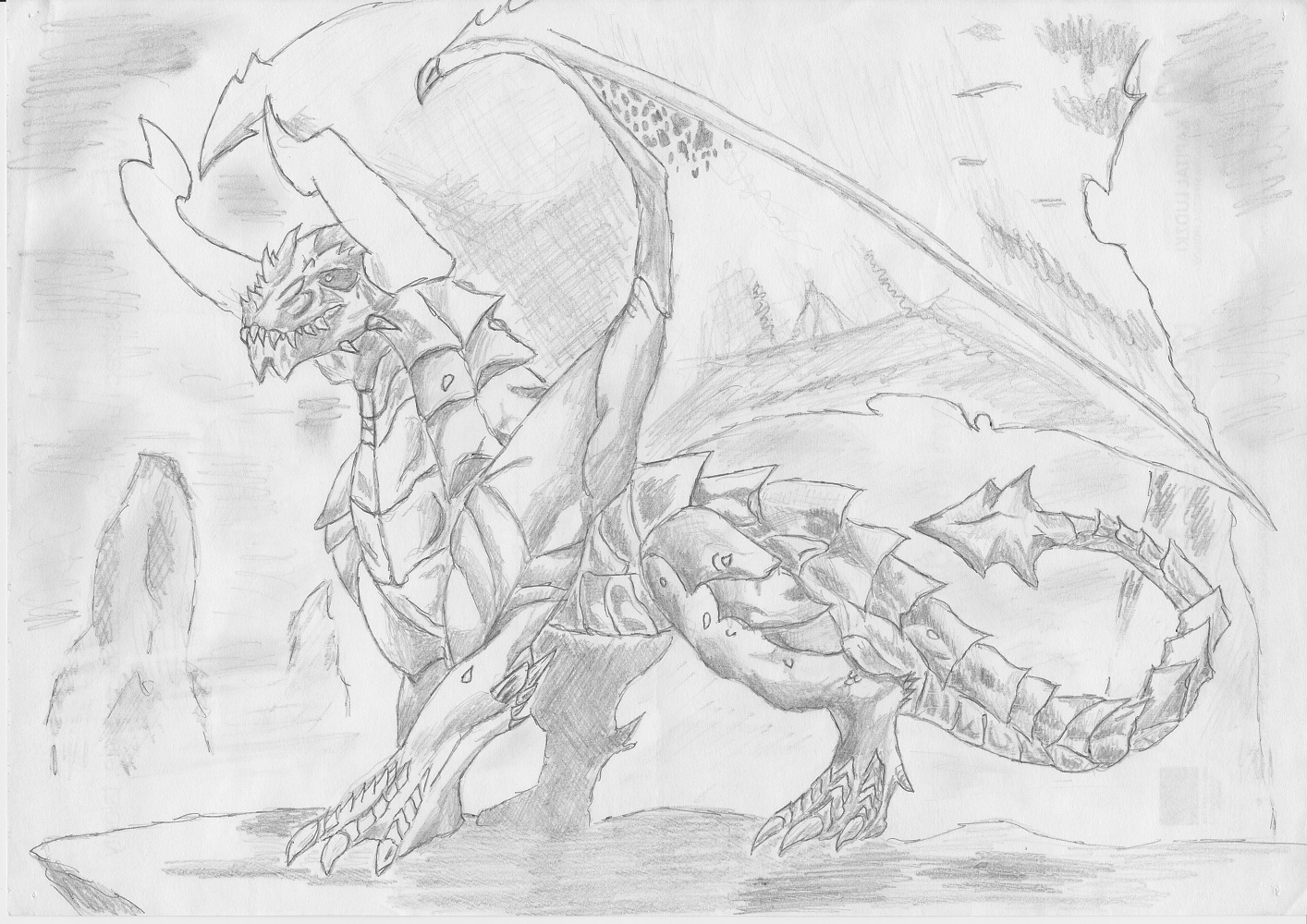 Dragon by DWito9