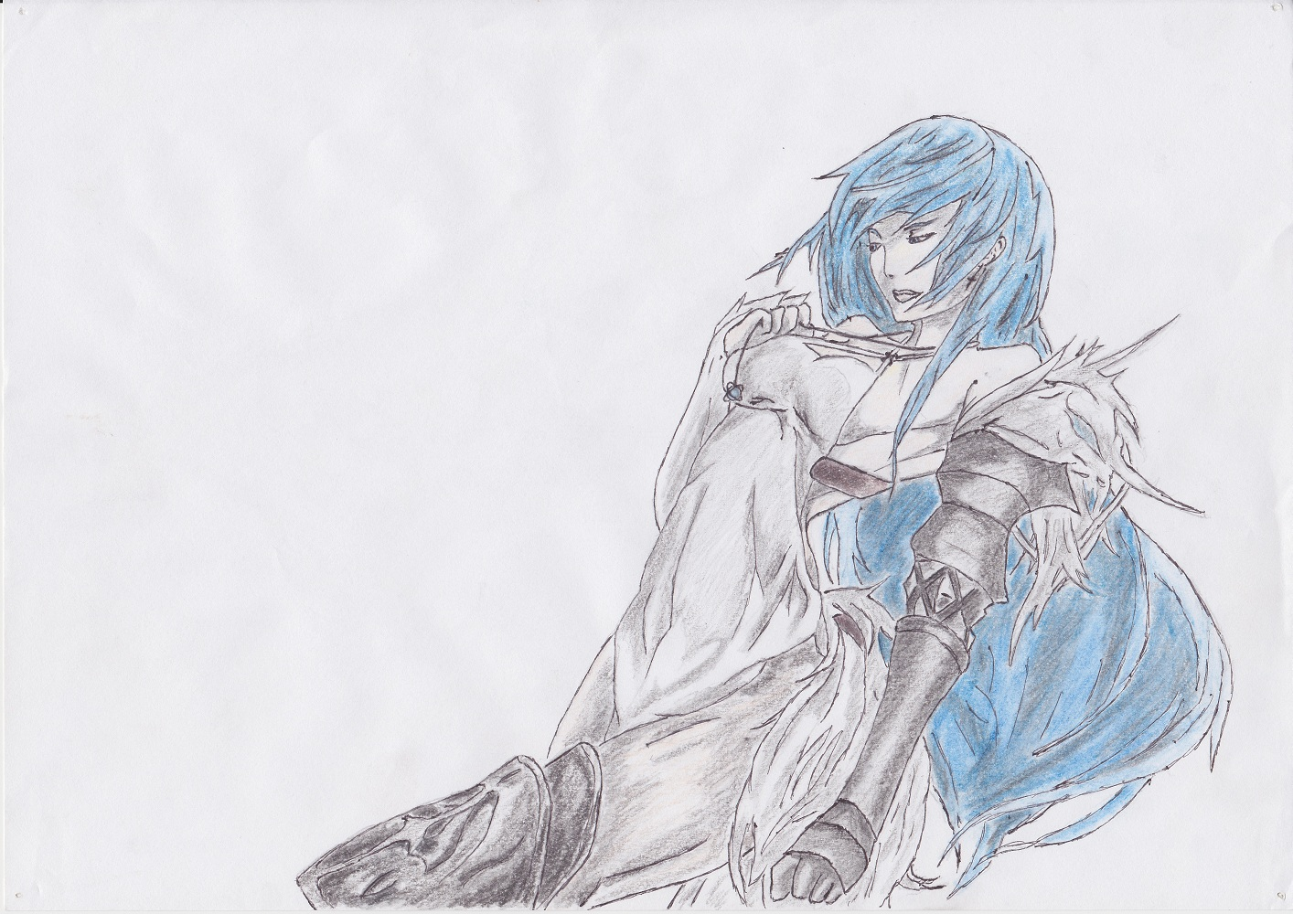 Blue haired by DWito9