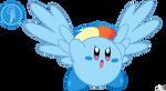 Kirby Rainbow Dash