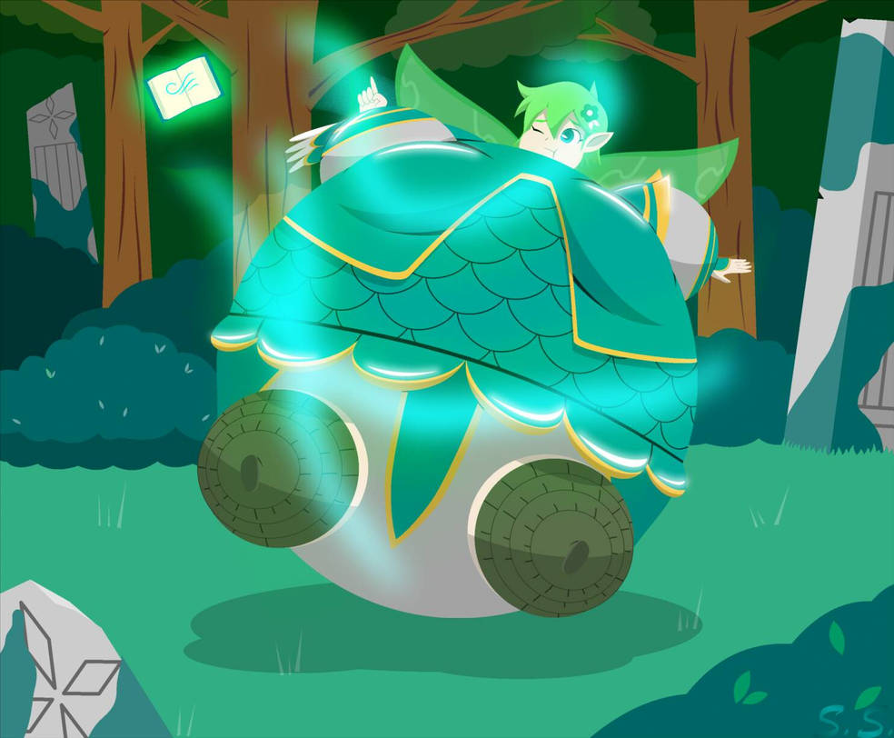 Aira's Flying Spell by The-Silver-Soldier on DeviantArt