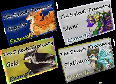 The Sylesti Treasury - Card Examples by Animela-WolfHybrid