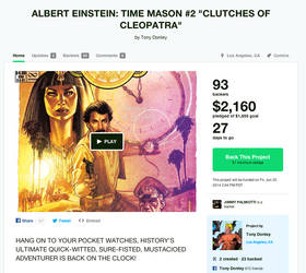 AE:TM #2 Kickstarter is Live! by Tonydonley