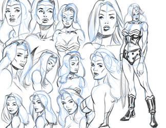 Wonder Woman Designs by Tonydonley