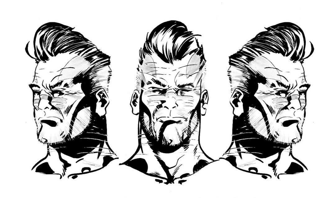 WW CD Ink Head Character design by Tonydonley