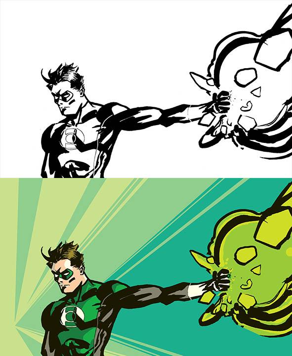 Green Lantern by Tonydonley