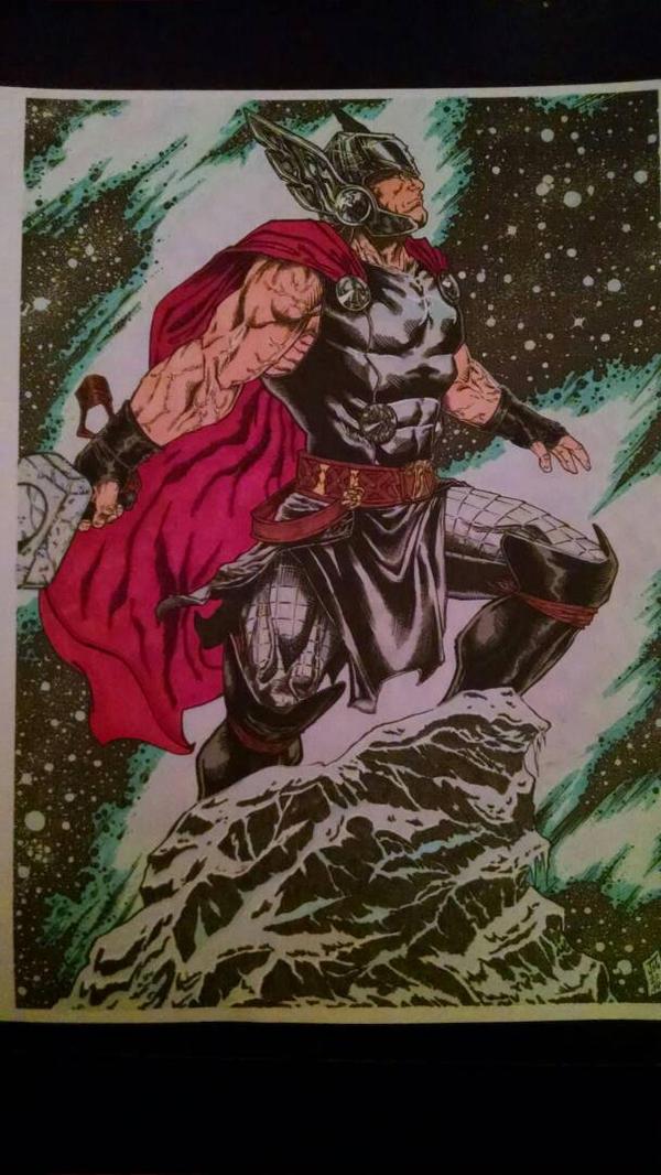 Thor by DGCOHARDCORE