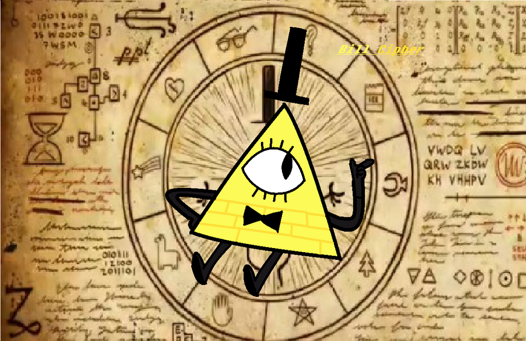 Bill Cipher by KittenLover1324