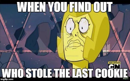 Yellow Diamond Meme Thing by KittenLover1324