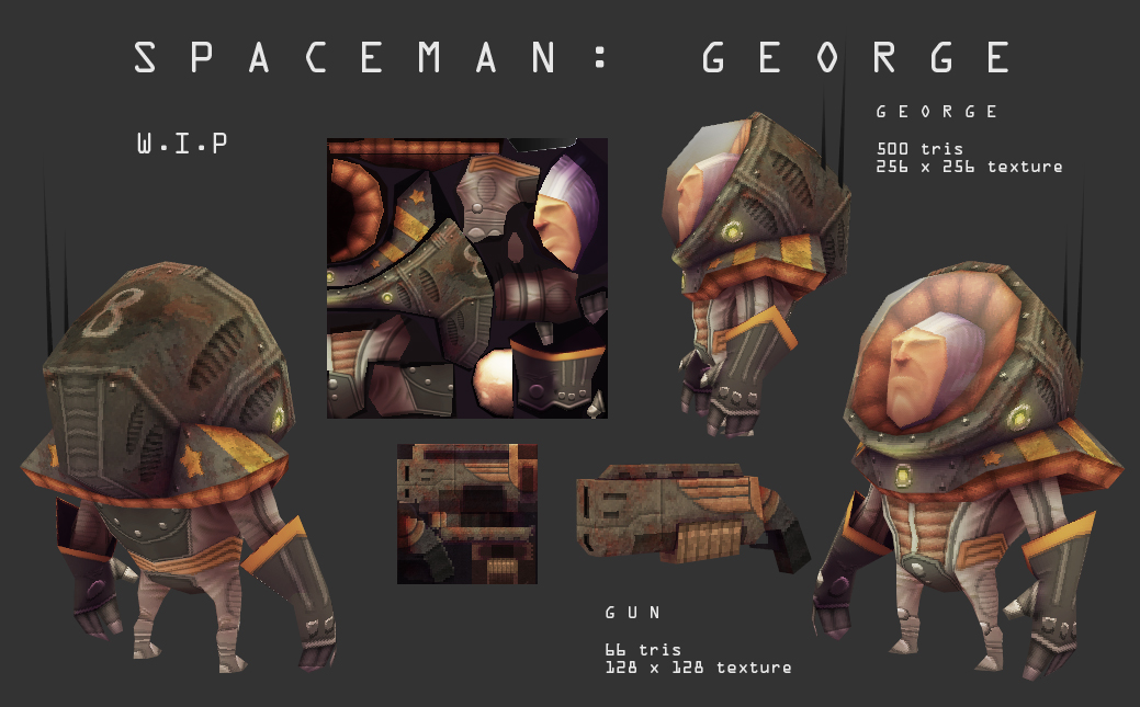 Space man George by DuncanFraser