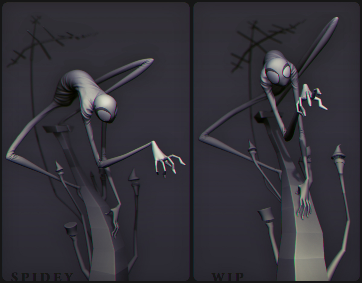 Spidey by DuncanFraser