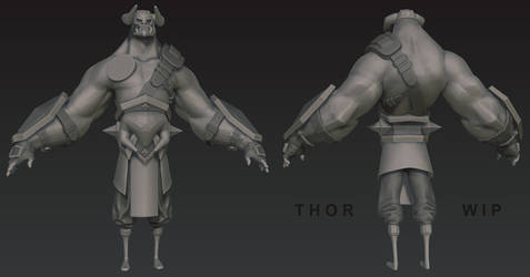 Thor by DuncanFraser