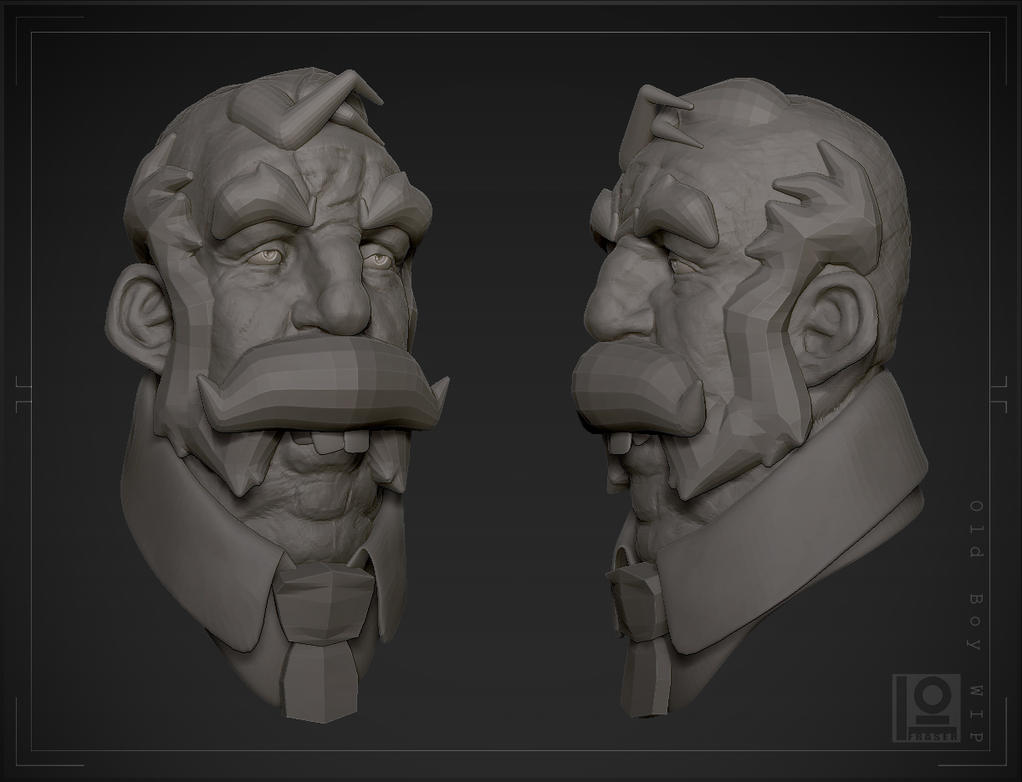 Old Boy (wip) by DuncanFraser