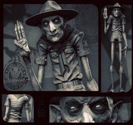 Nosferatu... Scout Leader!?