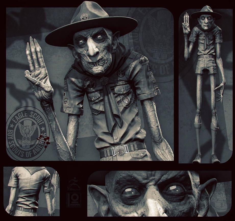 Nosferatu... Scout Leader!? by DuncanFraser