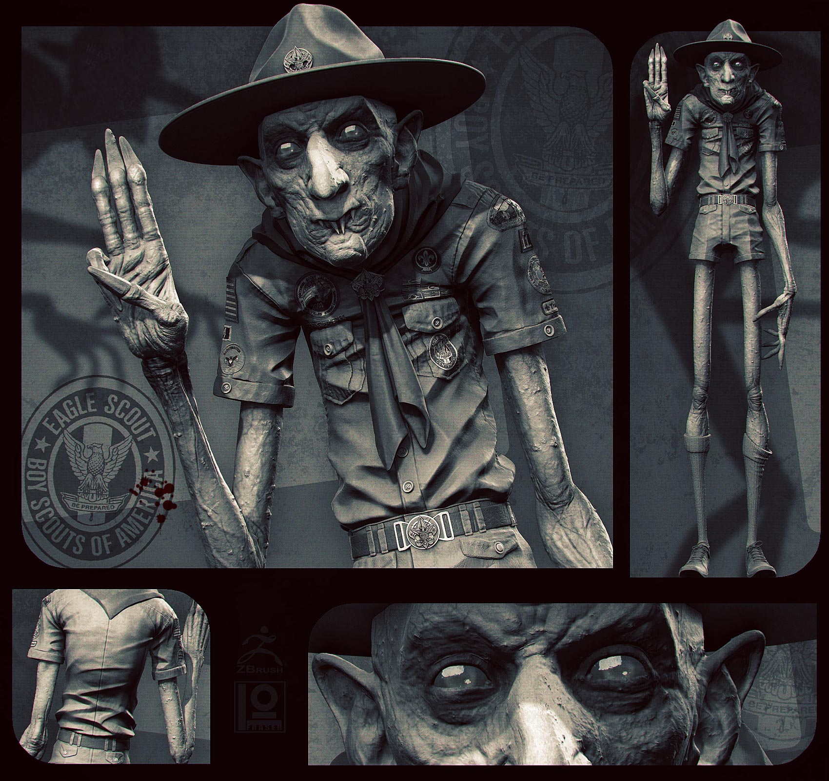Nosferatu... Scout Leader!? by DuncanFraser