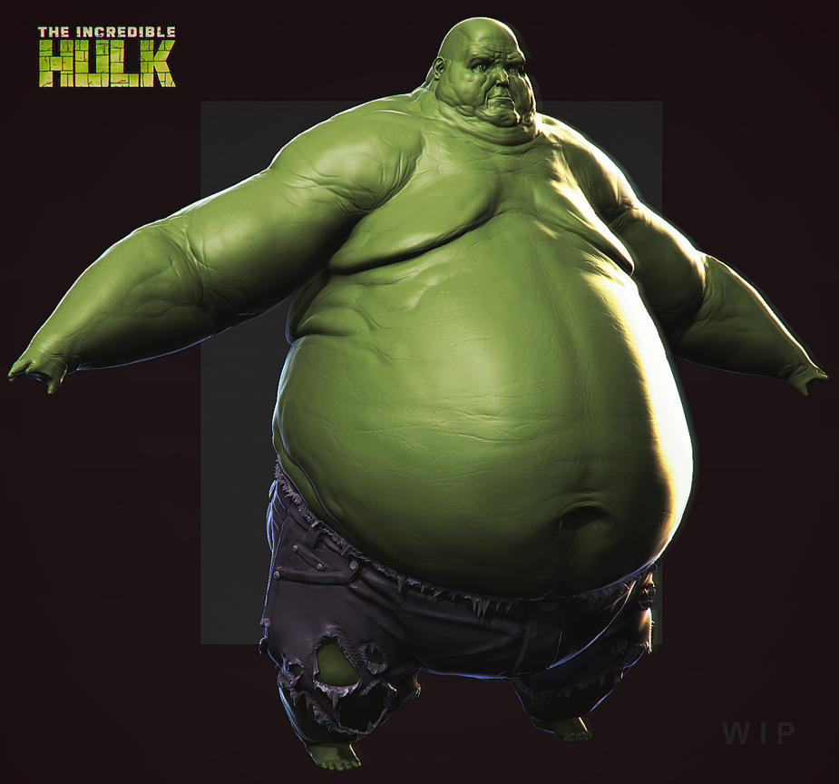 incredible hulk art gallery - photo #46