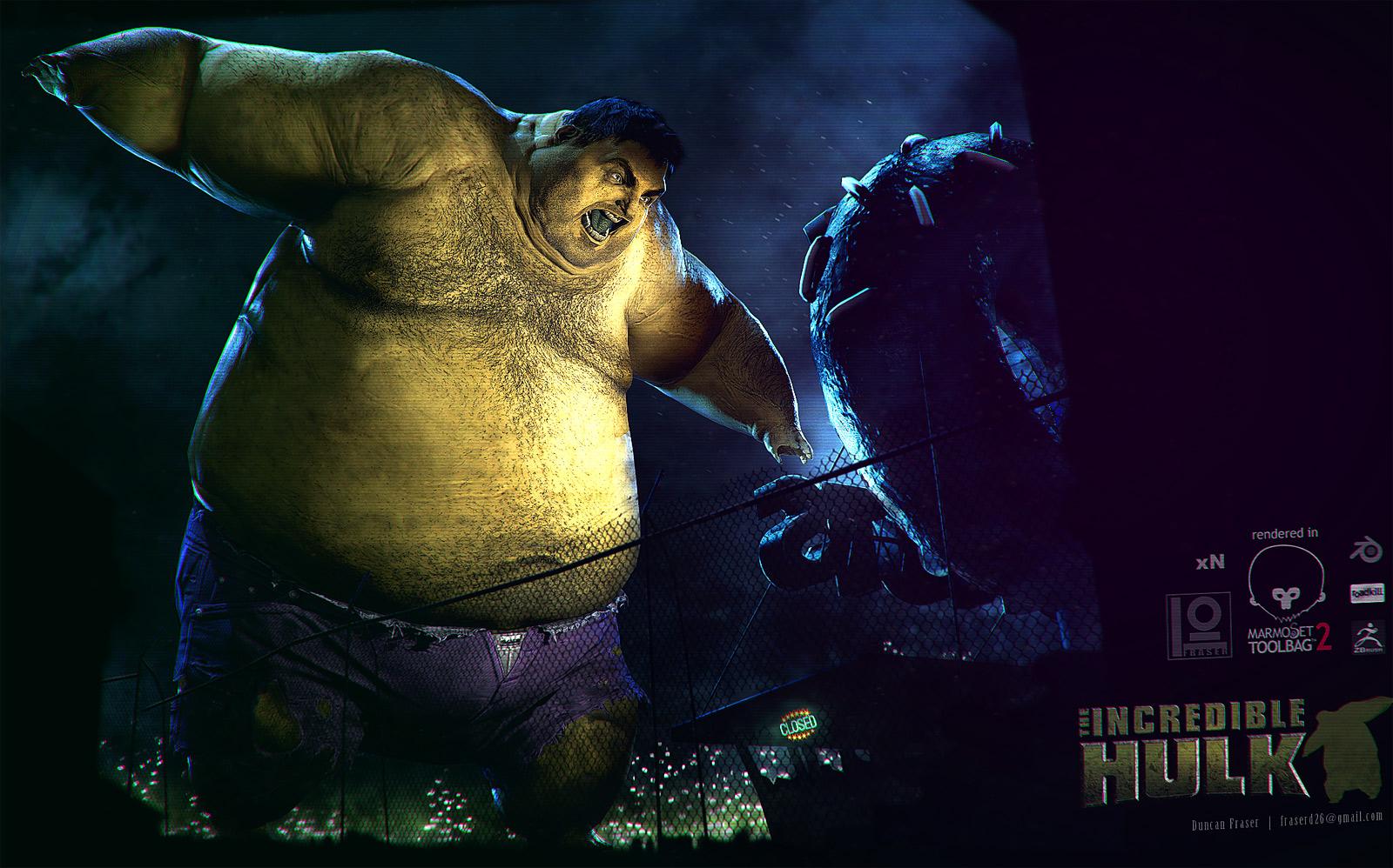 Comicon 2014 | The Hulk.. or perhaps the BULK