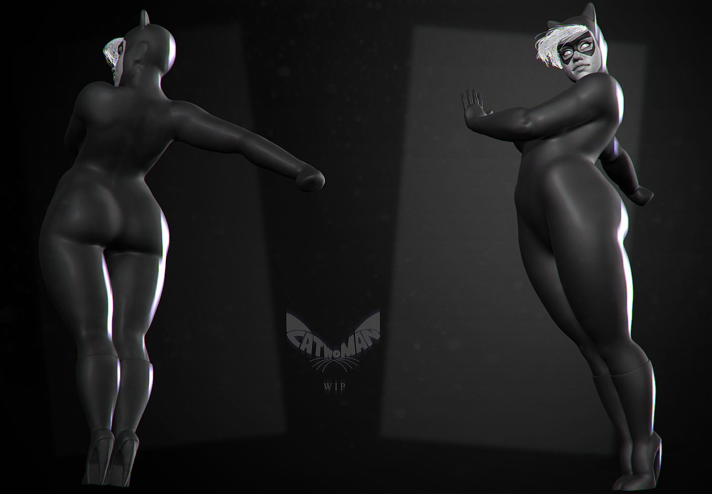 Catwoman_wip by DuncanFraser