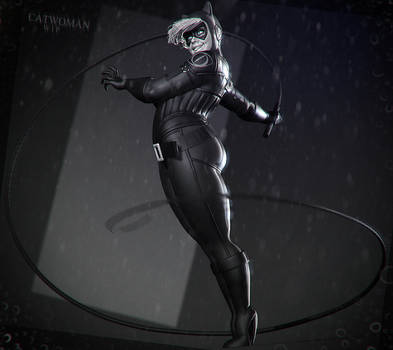 CatWoman Wip 004 by DuncanFraser