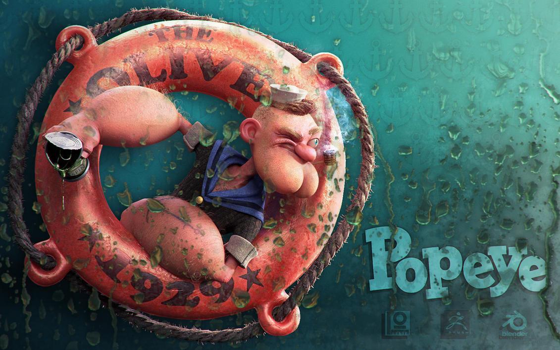 Popeye by DuncanFraser