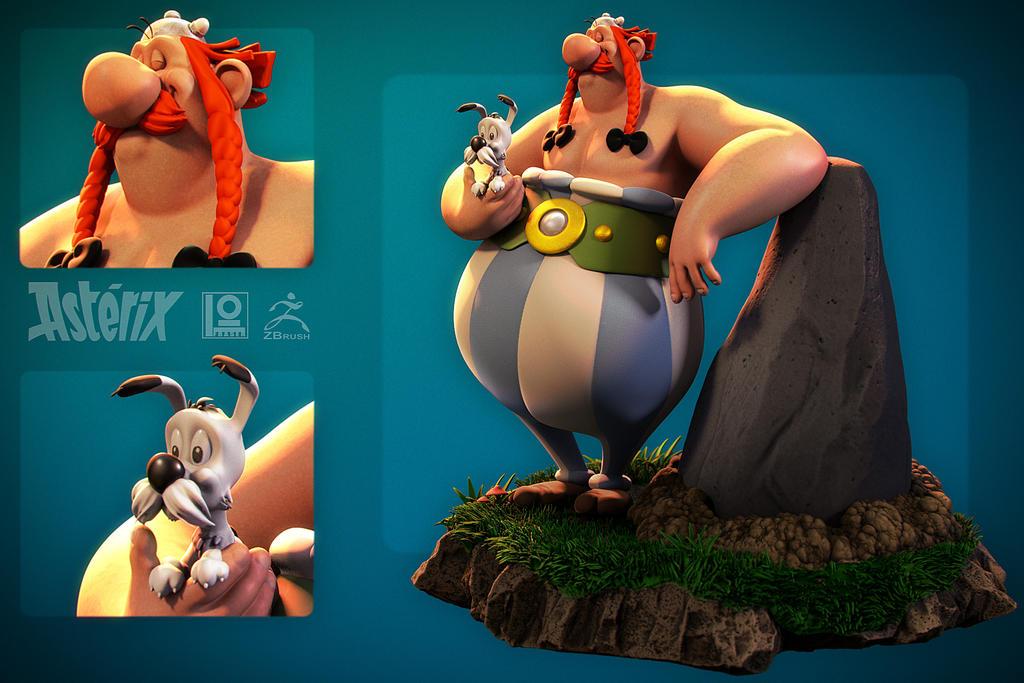 Obelix by DuncanFraser