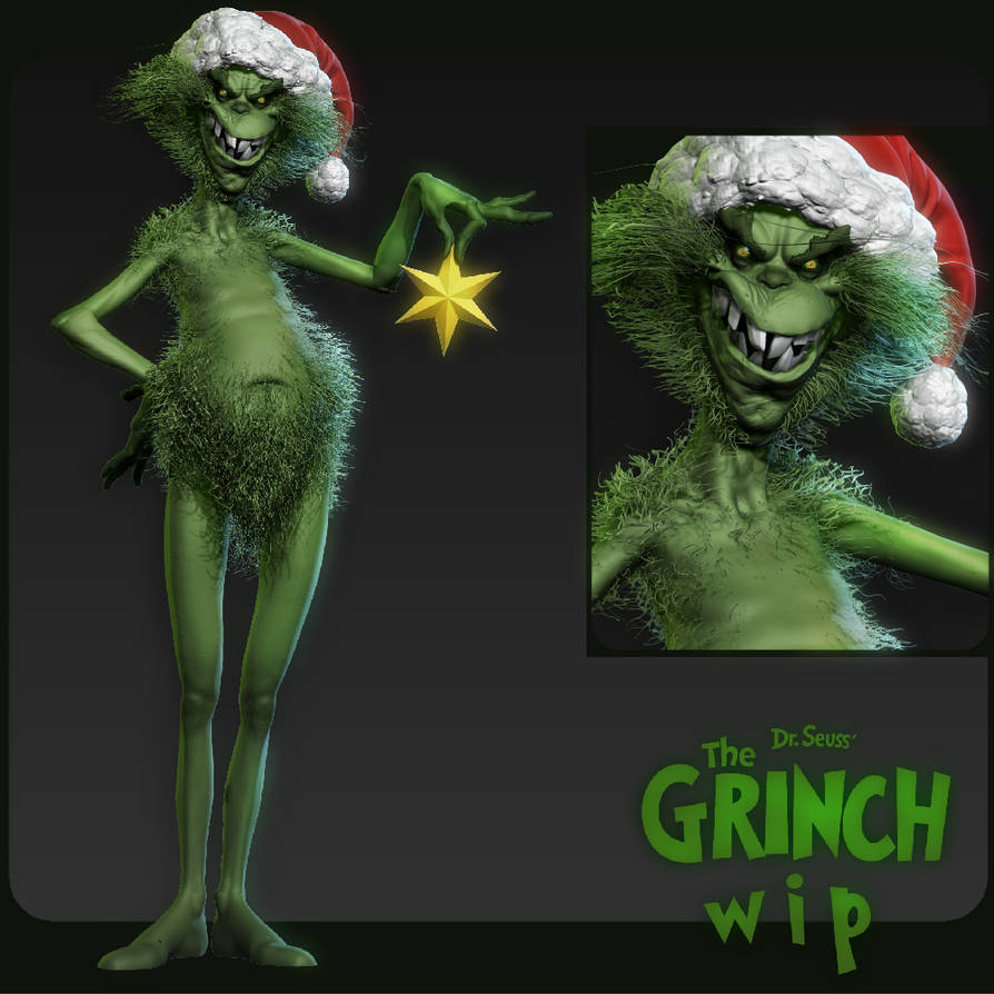 Grinch 001 by DuncanFraser