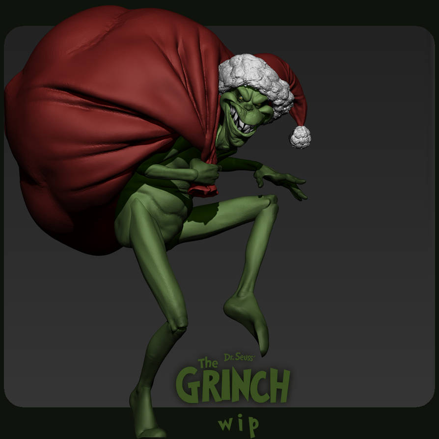 Grinch 002 by DuncanFraser