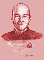 Picard by ChuckColeman