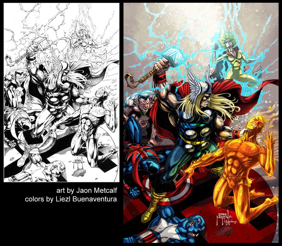 Part 14 / 10 Invaders_by_Jason_Metcalf_by_trinitycross