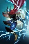 The Mighty Thor by lizzbuenaventura