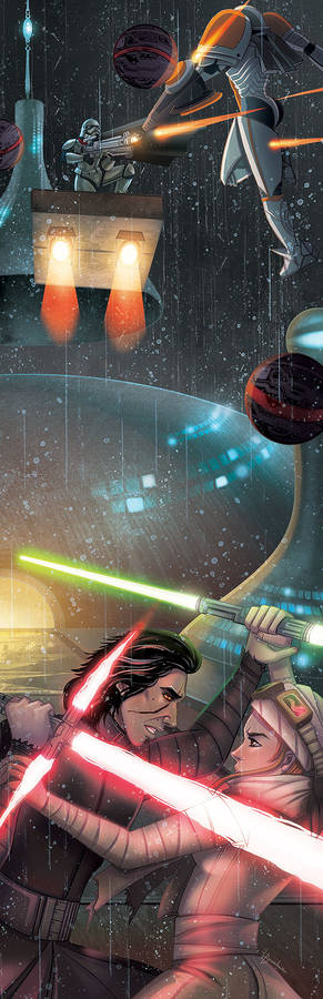 Star Wars: Duel in the Sky and Land
