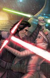 Duel: Rey Vs Kylo