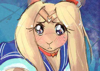 Sailor Moon Scene Redraw