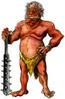 Yokai Monsters: Oni by Loneanimator