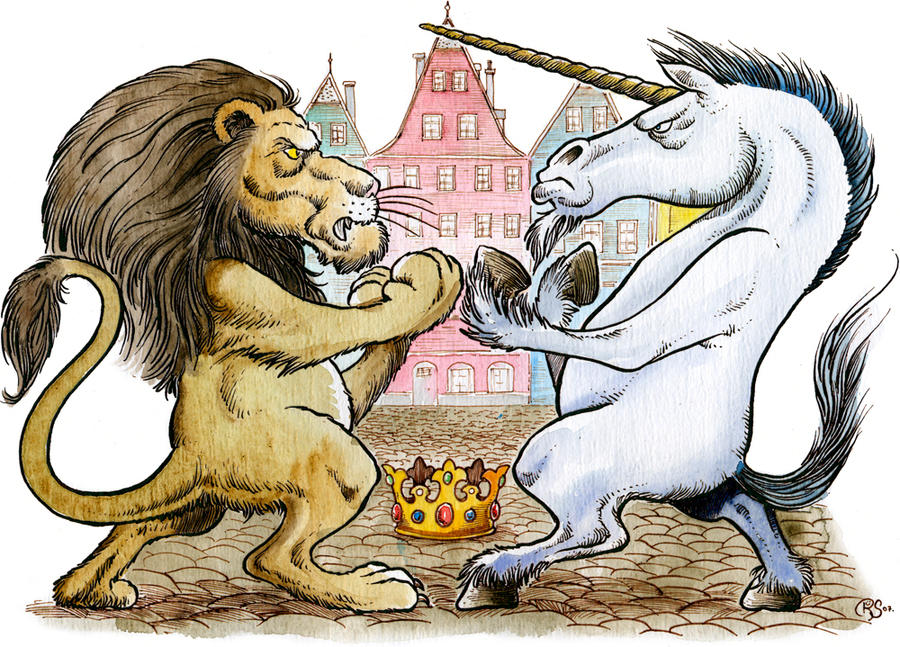 the_lion_and_the_unicorn_by_loneanimator