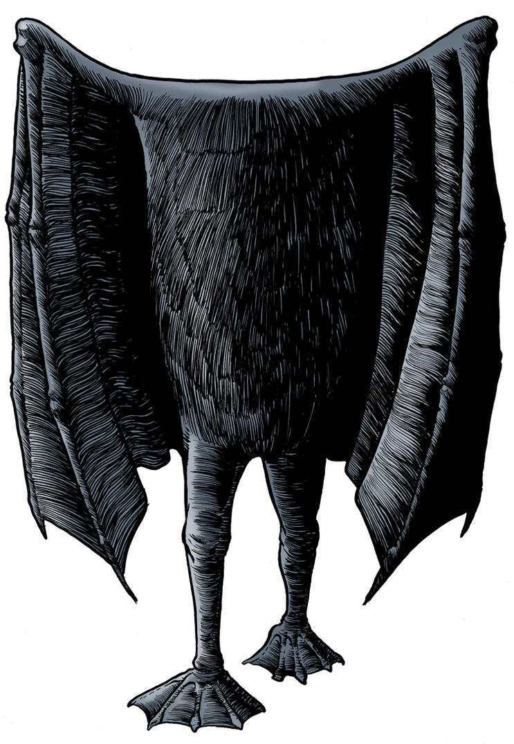 The Kent Bat Beast by Loneanimator