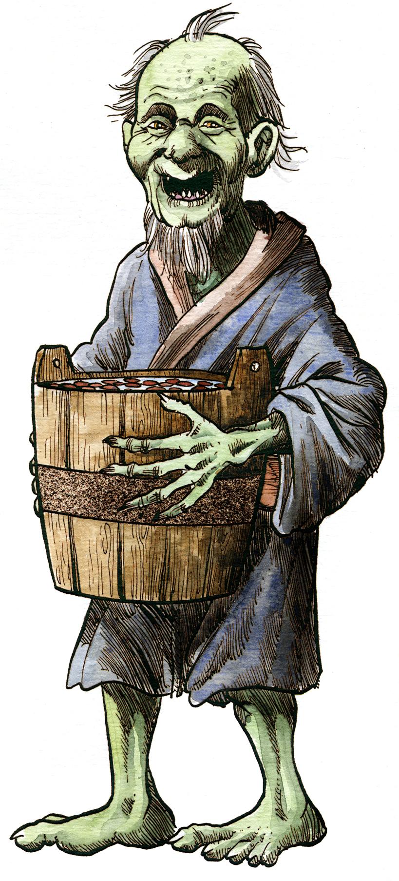 Yokai Monsters: Azukiarai