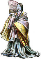 Yokai Monsters: Ao-nyobo by Loneanimator