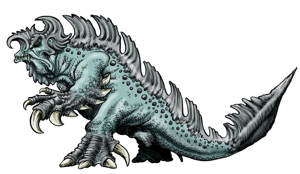 Entry For Stan Winston Kaiju Design Challenge by Loneanimator